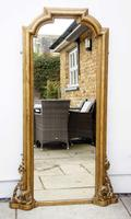 Full Height Victorian Giltwood Pier Mirror / Dressing Mirror (2 of 27)