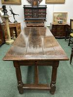 18th Century Oak Farmhouse Dining or Kitchen Table (3 of 7)