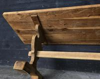 Trestle End Oak Farmhouse Dining Table (2 of 18)