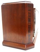 Smiths Art Deco Mantel Clock Triple Chime 8 Day Westminster Chime Mantle Clock. (8 of 8)