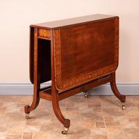 Inlaid Mahogany Edwardian Sutherland Table (9 of 19)