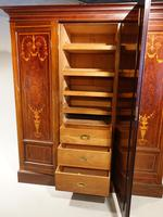 Very Fine Early Victorian Period Inverted Breakfront Wardrobe (5 of 5)