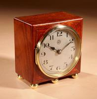 Early Electrical Ato Art Deco Small Desk / Mantel Clock (5 of 8)