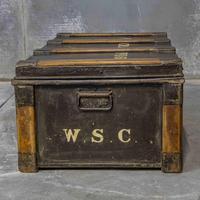 Victorian Tin Trunk (3 of 9)