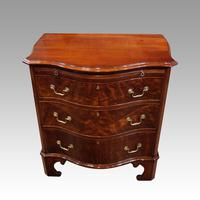 Edwardian Small Serpentine Chest (5 of 10)