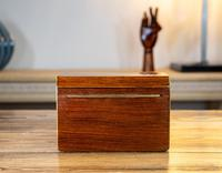 Rosewood Tea Caddy 1840 (6 of 8)