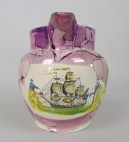Sunderland Pink Lustre Jug Maritime (2 of 9)