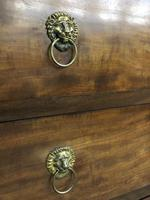 Lions paw French Empire marble top chest of drawers (10 of 10)