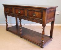 Quality Oak Sideboard Dresser Base (8 of 11)