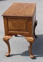 1960s Quality Hand Made Oak Lowboy with 5 Drawers (4 of 5)