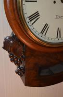 Edwin Fisher Bath Twin Fusee Striking Wall Clock (3 of 5)