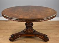 William IV Rosewood Circular Breakfast Table (3 of 11)