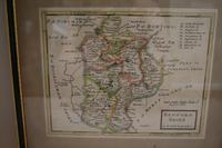 Original Map of Bedfordshire by Herman Moll (3 of 4)
