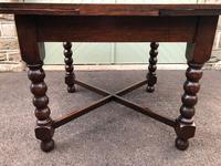 Antique Oak Extending Dining Table (6 of 10)