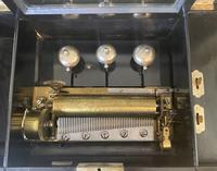 Victorian 8 Air Cylinder Swiss Music Box with Bells (6 of 21)