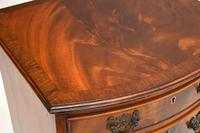 Antique Mahogany  Bow Front Chest of Drawers (11 of 11)