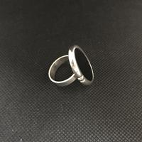 Danish Silver Ring with Onyx. 1960s. N E From (4 of 5)