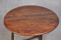17th Century Oak Cricket Table (6 of 7)