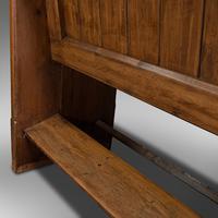 Antique Hallway Bench, English, Pine, Reception, Pew, Ecclesiastic, Victorian (12 of 12)