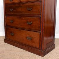 Mahogany Chest of Drawers Victorian 19th Century (7 of 11)