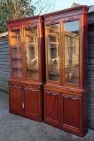 Pair of 19th Century Mahogany Bookcases