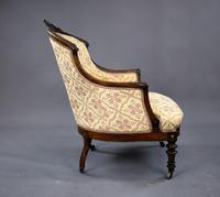 Victorian Rosewood Ladies & Gents Armchairs (12 of 22)