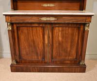 19th Centruy Marble Top Mahogany Chiffonier Sideboard (4 of 8)