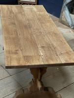 Smaller French Farmhouse Bleached Oak Dining Table (7 of 17)
