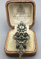 Victorian Emerald and Diamond Ring (8 of 8)