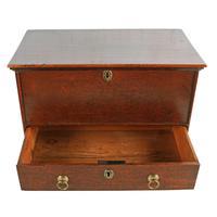 18th Century Oak One Drawer Box (3 of 8)