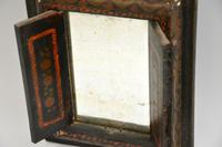 Antique Persian Painted Wood Mirror (4 of 11)