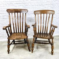4 x Windsor Lathback Armchairs (5 of 5)