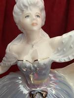 "Rare Coalport Limited Edition Figurine ""Rain"" The Millennium Ball Collection (6 of 9)"