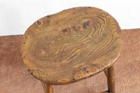 Victorian Antique Stool with a Wonderful Figured Top (2 of 4)