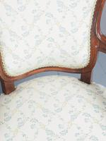 Antique Pair of French Rosewood Armchairs (11 of 19)