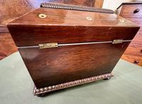 Regency Period Sarcophagus Shaped 'Double' Tea Caddy (6 of 6)