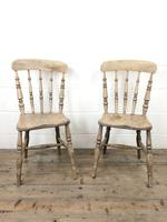 Set of Four Antique Kitchen Chairs (6 of 11)