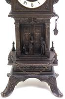 Antique French Tower Model 8-day Gothic Tower Mantle Clock (2 of 13)