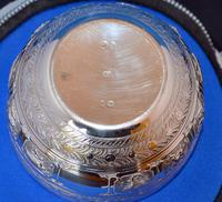 Victorian Silver Bowl by Charles Boyton 1880 (2 of 4)