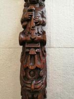 Pair of Late 17th Century Oak Caryatids (2 of 9)