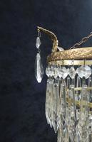 Art Deco Italian Four Tier Crystal Glass Chandelier (5 of 6)