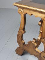 Antique Spanish Style Gilded Side Table by Whytock & Reid (11 of 14)
