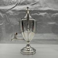Antique George III Sterling Silver Tea Urn London 1796 Peter & Ann Bateman (4 of 12)