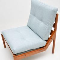 Danish 1960's Teak Lounge Chair by Illum Wikkelso (9 of 10)