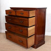 Mahogany Chest of Drawers Victorian 19th Century (10 of 11)