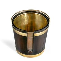 A George III mahogany and brass-bound plate bucket (6 of 6)