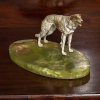 Cold Painted Bronze Borzoi Desk Companion (5 of 7)