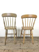 Set of Four Mix & Match Farmhouse Chairs (10 of 10)