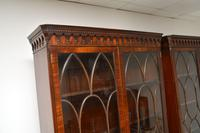 Pair of Antique Georgian Style Mahogany Bookcases (7 of 11)