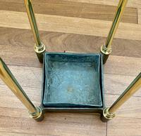 Victorian Brass & Cast Iron Stick Stand (7 of 8)